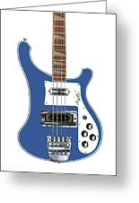 Rickenbacker Bass 4001 Body  Greeting Card