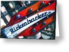 Rickenbocker Greeting Card