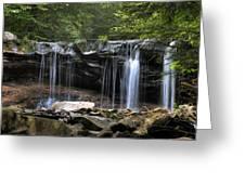 Ricketts Glen Oneida Greeting Card
