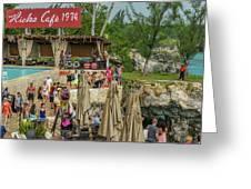 Rick's Cafe In Negril Greeting Card