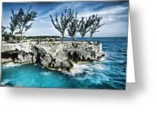 Rick's Cafe Negril Jamaica Greeting Card