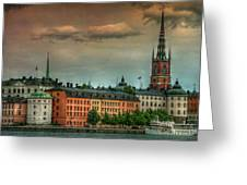 Riddarholmen Greeting Card