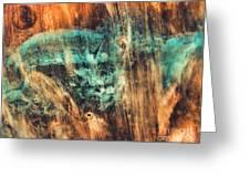 Riddicks World Watercolor Painting Greeting Card
