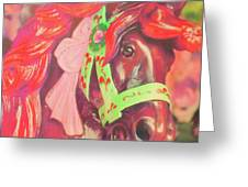 Ride Of Old Pinks Greeting Card
