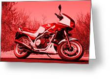 Ride Red Greeting Card