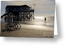 Ride Your Bike To The Beach Greeting Card