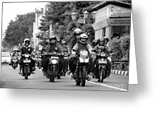Riders Greeting Card