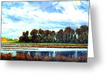 Ridgefield Refuge Early Fall Greeting Card