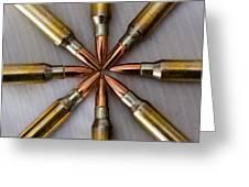 Rifle Ammuntion Greeting Card