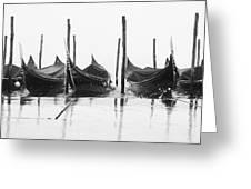 Riflessi Di Gondole 03776 Greeting Card