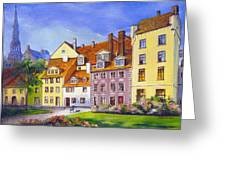 Riga Latvia Greeting Card