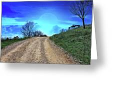 Right Path Greeting Card