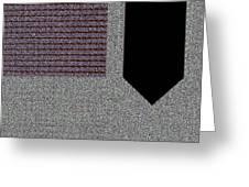 Right-sided Shirt Pocket Greeting Card