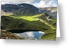 Rila Mountain Greeting Card
