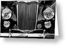 Riley Saloon Car - Vintage Greeting Card
