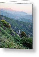 Rim O' The World National Scenic Byway II Greeting Card