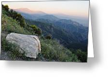 Rim O' The World National Scenic Byway Greeting Card