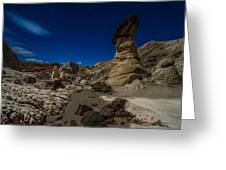 Rim Rock Toadstools Grand Staircase National Monument  Greeting Card