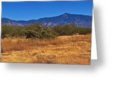 Rincon Peak, Tucson, Arizona Greeting Card