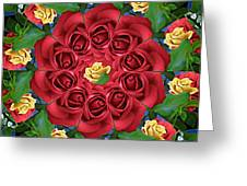 Ring Around The Roses Greeting Card
