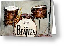 Ringo's Drums Greeting Card
