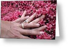Rings Of Destiny Greeting Card