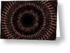 Rings Of Fire Greeting Card