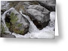 Rio Bonito Falls Greeting Card