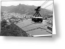 Rio De Janeiro Greeting Card