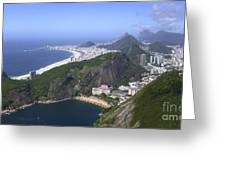 Rio De Janiero Morning Greeting Card