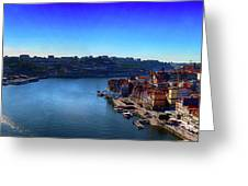 Rio Douro Greeting Card