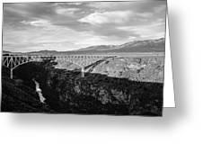 Rio Grande Gorge Birdge Greeting Card