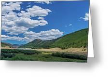 Rio Grande Headwaters #3 Greeting Card