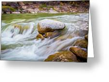 Rio Grande Rocky Flow Greeting Card