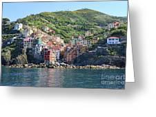 Riomaggiore 0583 B Greeting Card