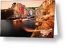 Riomaggiore Cinque Terre Greeting Card