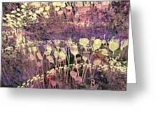Riotous Spring Greeting Card