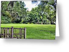 Rip Van Winkle Gardens Louisiana  Greeting Card