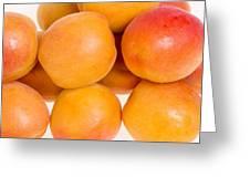 Ripe Apricots  Greeting Card