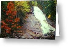 Ripley Falls Autumn Greeting Card