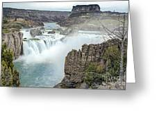 Ripping Shoshone Falls Greeting Card