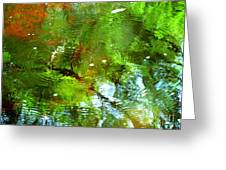 Ripple Effects Greeting Card