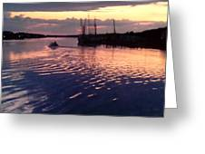 Ripple In Still Waters  Greeting Card