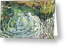 Ripple Pond Greeting Card