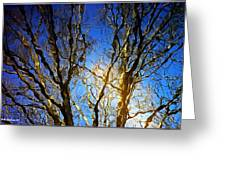 Ripple Tree Greeting Card