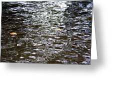 Rippled Reflection Greeting Card