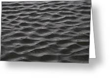 Ripples And Waves From Wind Dance Greeting Card