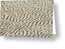 Ripples In The Sand IIi Greeting Card