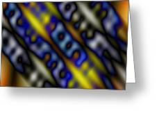 Ripples Of Color Greeting Card