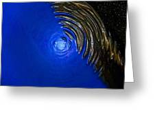 Ripples Of Time And Space Greeting Card